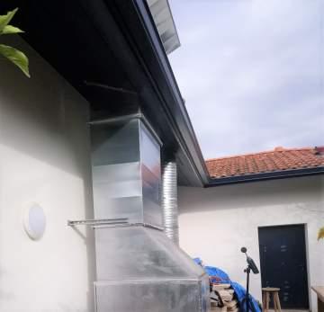 Mesures sonométriques sur un dispositif de renouvellement d'air