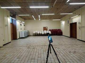 Etude acoustique dans le cadre d'une réhabilitation d'un salle des fêtes polyvalente